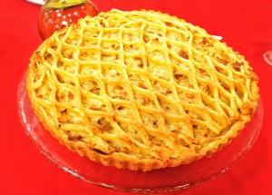 Torta de Frango Bêbado