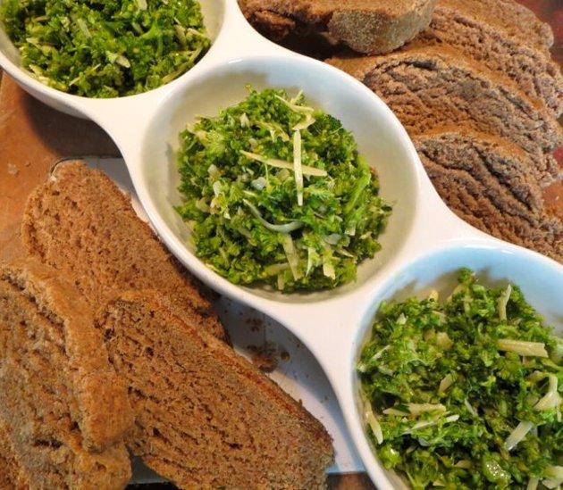 Pesto Crudívoro de Brócolis