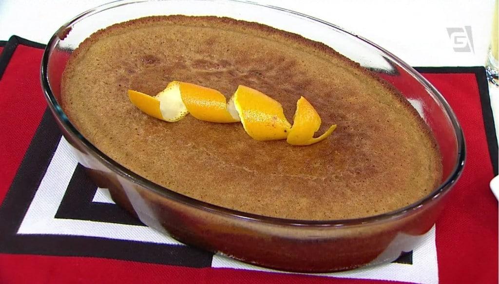 Torta Úmida de Geleia de Laranja