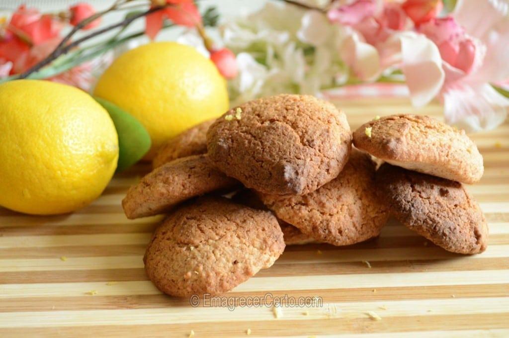 Biscoito de Limão Sem Glúten